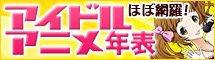 アイドルアニメ年表