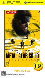 METAL GEAR SOLID ピースウォーカー PSP the Best(ゲーム)