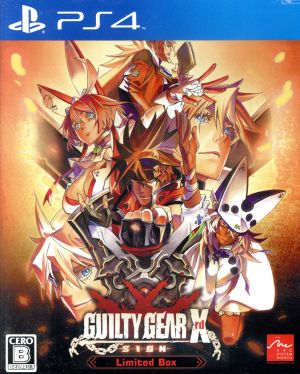 GUILTY GEAR Xrd -SIGN- <Limited Box>